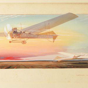 E.Montaut-Latham-sur-monoplan-Antoinette